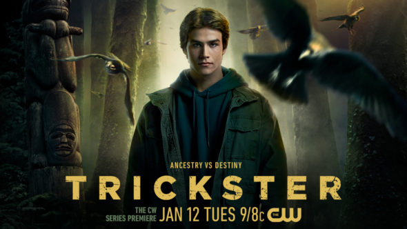 Trickster TV show on The CW: season 1 ratings