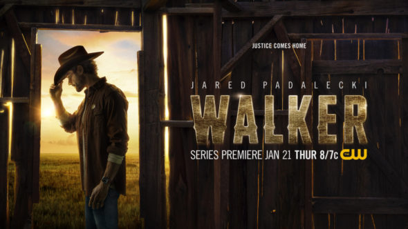 Walker TV show on The CW: season 1 ratings
