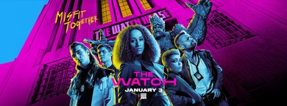 The Watch TV show on BBC America: season 1 ratings