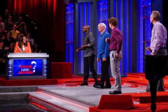 Whose Line Is It Anyway? TV show on The CW: canceled or renewed for season 18 (season 9 on CW)?