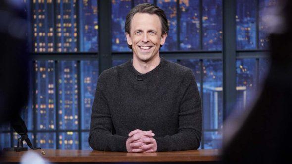 Late Night with Seth Meyers TV show on NBC: renewed through 2025