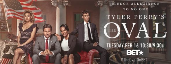 Tyler Perry's The Oval TV show on BET: season 2 ratings