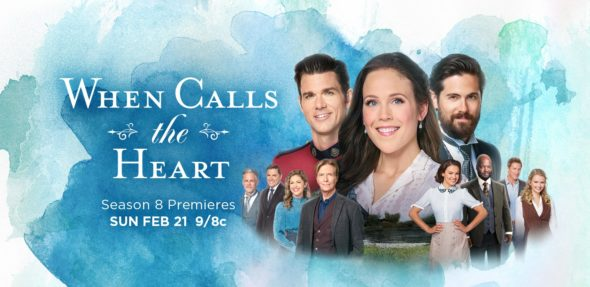 When Calls the Heart TV show on Hallmark Channel: season 8 ratings