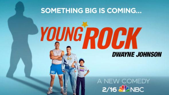 Young Rock TV show on NBC: season 1 ratings