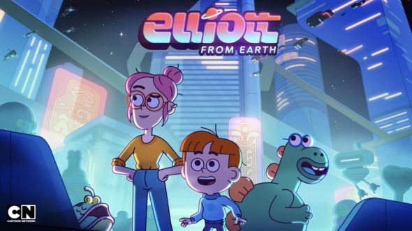 Elliot from Earth TV Show on Cartoon Network: canceled or renewed?