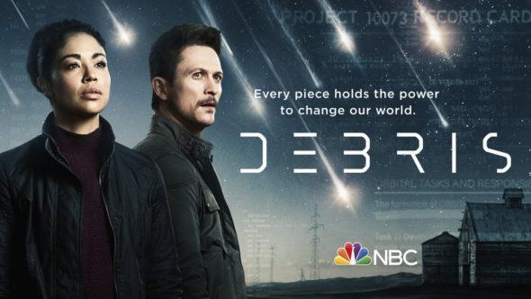 Debris TV show on NBC: season 1 ratings