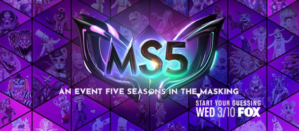 The Masked Singer TV show on FOX: season 5 ratings