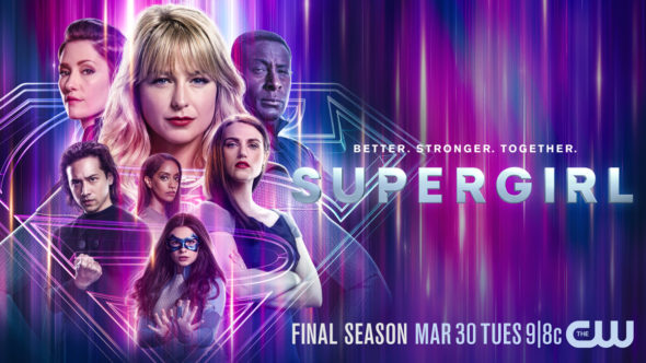Supergirl TV show on The CW: season 6 ratings