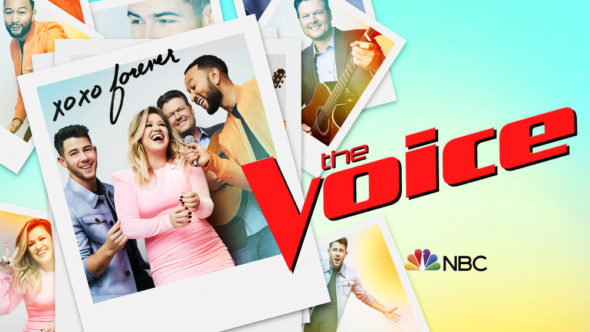 The Voice TV show on NBC: season 20 ratings