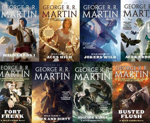 Wild Cards novels edited by George RR Martin