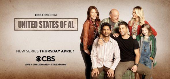 United States of Al TV show on CBS: season 1 ratings (canceled or renewed for season 2?)