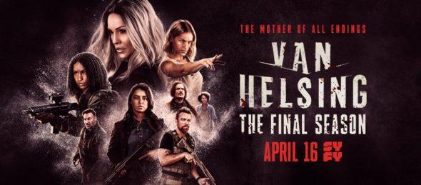 Van Helsing TV show on Syfy: season 5 ratings