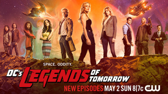 DC's Legends of Tomorrow TV show on The CW: season 6 ratings