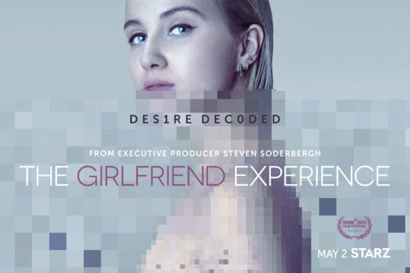 The Girlfriend Experience TV show on Starz: season 3 ratings