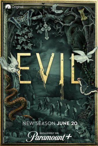 Evil TV show on CBS: season 2 moving to Paramount+