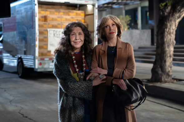 Grace and Frankie TV show on Netflix: canceled? renewed for season 8?