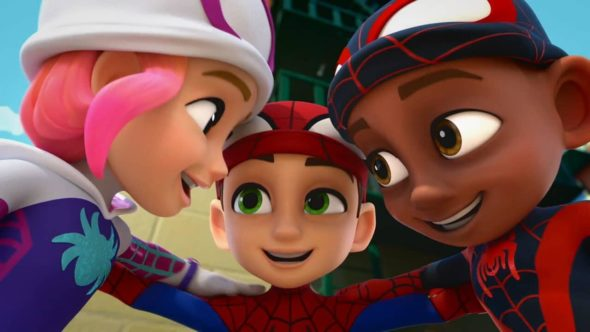 Marvel's Spidey and his Amazing Friends TV Show on Disney Junior: canceled or renewed?