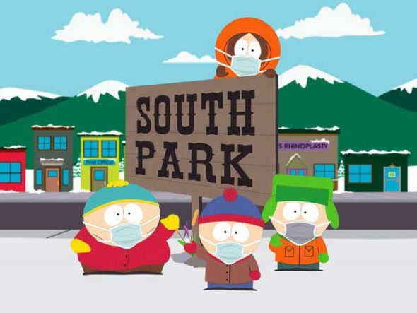 South Park TV show on Comedy Central: renewed for seasons 27, 28, 29, and 30