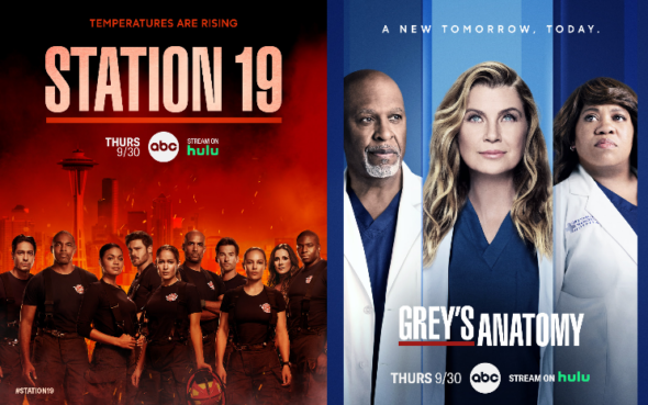 Grey's Anatomy Station 19 crossover on ABC