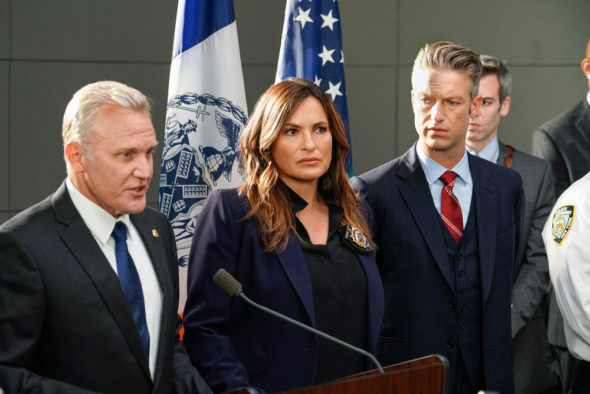 Law & Order: Special Victims Unit TV show on NBC: canceled or renewed for season 24?