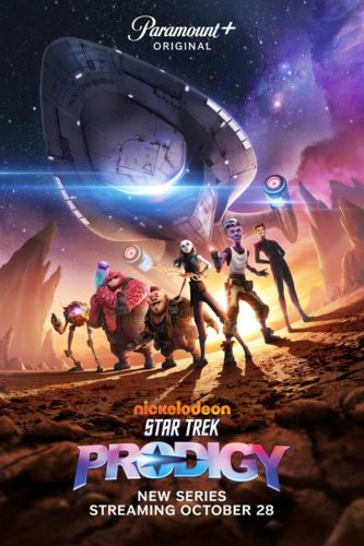 Star Trek: Prodigy on Paramount+ and Nickelodeon