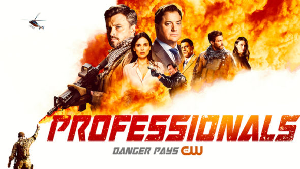 Professionals TV Show on The CW: canceled or renewed?
