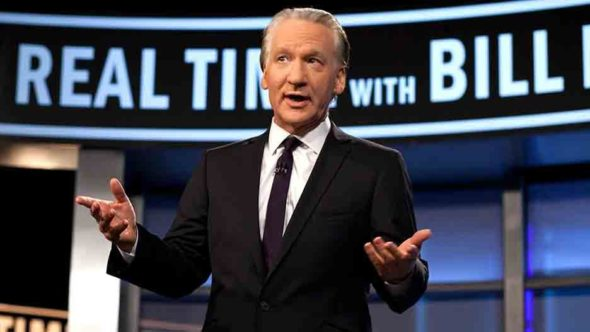 Real Time with Bill Maher TV show on HBO: seasons 21 and 22 renewal