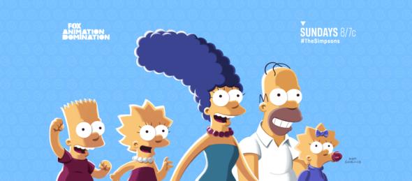 The Simpsons TV show on FOX: season 33 ratings