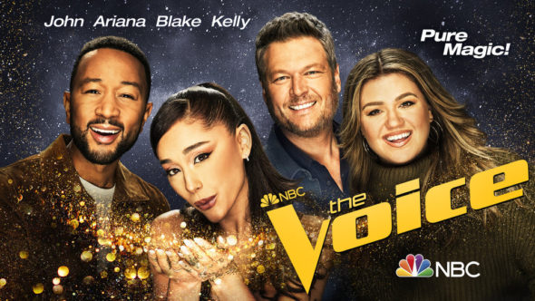 The Voice TV show on NBC: season 21 ratings