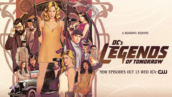 DC's Legends of Tomorrow TV show on The CW: season 7 ratings