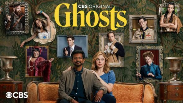 Ghosts TV show on CBS: season 1 ratings