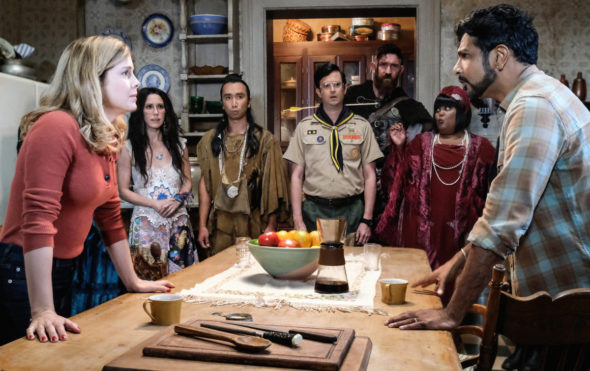 Ghosts TV show on CBS: canceled or renewed for season 2?