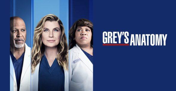 Grey'sAnatomy TV show on ABC: season 18 ratings