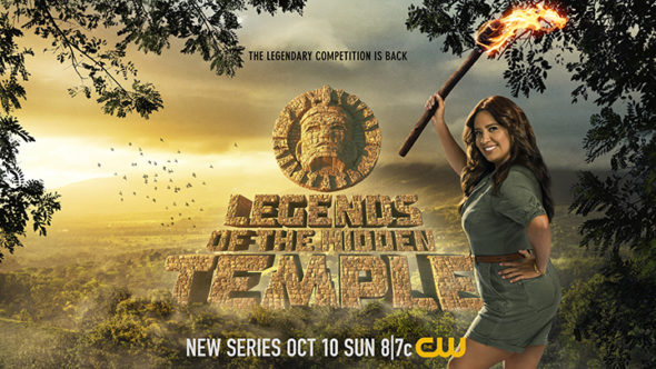 Legends of the Hidden Temple TV show on The CW: season 1 ratings