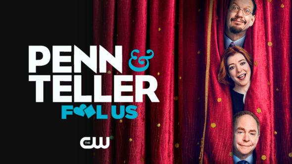 Penn & Teller TV show on The CWL season 8 ratings