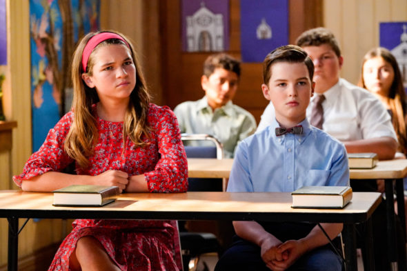 Young Sheldon TV show on CBS: canceled or renewed for season 6?