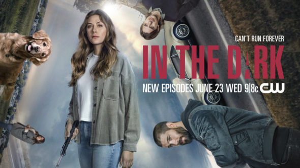 In the Dark TV show on The CW: season 3 ratings