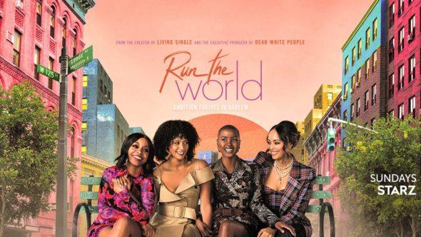 Run the World TV show on Starz: season 1 ratings
