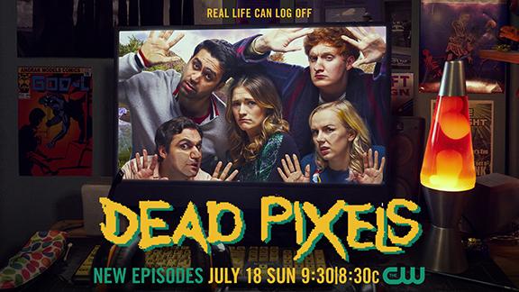 Dead Pixels TV show on The CW: season 2 ratings