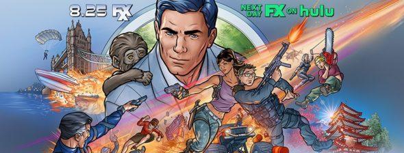 Archer TV show on FXX: season 12 ratings