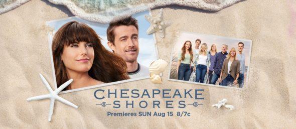 Chesapeake Shores TV show on Hallmark Channel: season 5 ratings