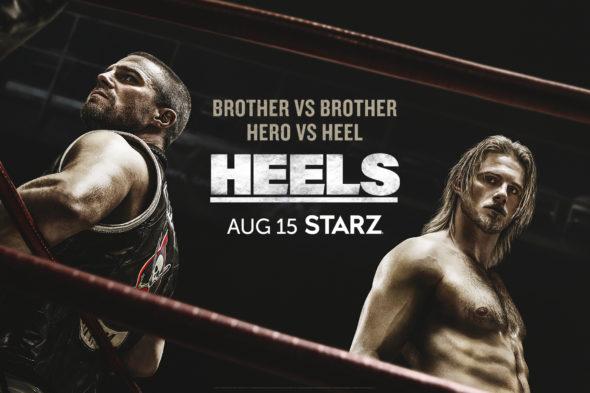 Heels TV show on Starz: season 1 ratings