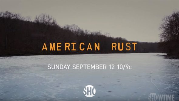 American Rust TV show on Showtime: season 1 ratings
