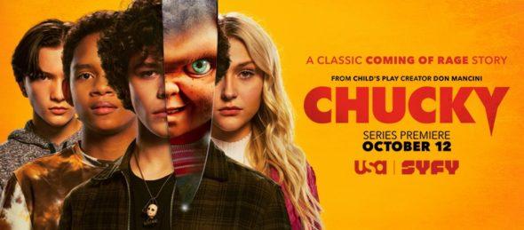 Chucky TV show on Syfy and USA Network: season 1 ratings